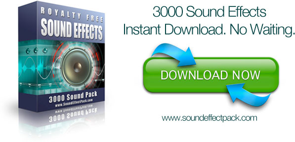 Free Sound Effects button